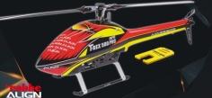 Align Speed Rumpf T-REX 500E rot gelb