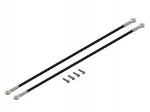 Lynx Heckstreben in silber für Blade 200SRX