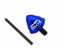 Rakonheli Heckrotorblatthalter Alu in blau für Blade 200SRX und 230S