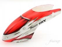 Fusuno Assasin rot Airbrush fiberglas Haube für Blade 200SRX