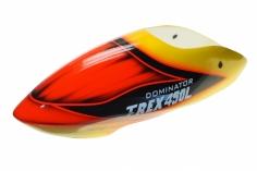 Fusuno Gourmet Airbrush fiberglas Haube für T-REX 450L Dominator