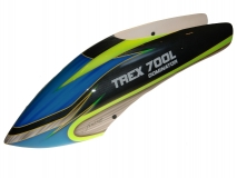 Fusuno Crownie Airbrush fiberglas Haube für T-REX Dominator 700L