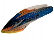 Fusuno Tropic Thunder Airbrush fiberglas Haube für T-REX Dominator 700L