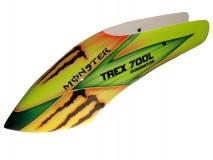 Fusuno Monster Airbrush fiberglas Haube für T-REX Dominator 700L