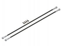 Lynx Hecksterben in silber Ersatzteil für LX1107 für Align T-REX 150