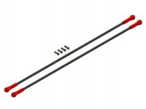 Lynx Hecksterben in rot Ersatzteil für LX1108 für Align T-REX 150