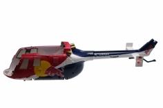 Ersatzteil Rumpf Seitenteil Red Bull BO-105 SR