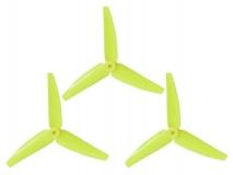 Lynx Heckrotorblatt gelb für Blade 200SRX, 230S und 250CFX