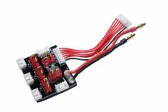 Multiladeadapter für 2x3S oder 3x 2S für XH Balancer