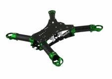 Rakonheli Carbon Hauptrahmen grün für Blade 200QX