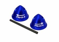 Rakonheli Hutmutter Alu blau für Blade 200QX