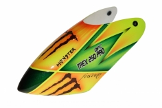 Fusuno Monster Airbrush fiberglas Haube für T-REX 250 PRO DFC