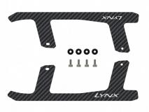 Lynx Landegestell Carbon Ersatzkufen für Blade 180CFX