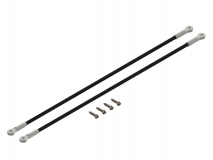 Lynx Heckstreben in silber für Blade 180CFX