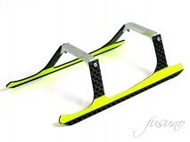 Fusuno Carbon Landegestell gelb für Blade 180CFX