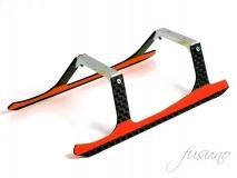 Fusuno Carbon Landegestell orange für Blade 180CFX