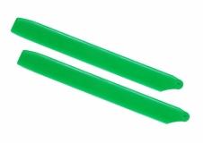 Lynx Hauptrotorblätter 160mm grün für Blade 180CFX