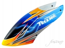 Fusuno Tropic Thunder Airbrush fiberglas Haube für T-REX 500L