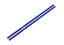 Rakonheli Heckrohr CNC Alu blau für Blade 200SRX