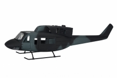 500er Rumpf Bell UH-1N Military