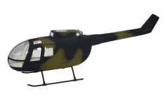 450er Scale Rumpf BO-105 Military