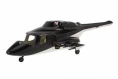 500er Rumpf Bell 222 Airwolf schwarz