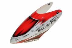 Fusuno Red Assassin Airbrush fiberglas Haube für T-REX 250 Pro DFC