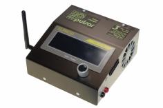 Profi- Akkulader Pulsar 3 mit eingebautem BT-Modul ohne Netzgerät, 1-14S, 12-48V