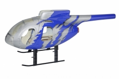 450er Rumpf MD 500 E G Jive Blau