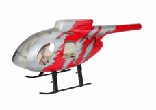 500er Rumpf MD500E G-Jive Rot