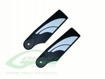 SAB Heckrotorblätter aus Technopolymer 70mm für Goblin 380 und 420