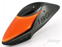 Fusuno Vulcan Airbrush fiberglas Haube im TDR Style für Blade 180CFX