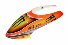 Fusuno Red Monster Airbrush fiberglas Haube für Blade 180CFX