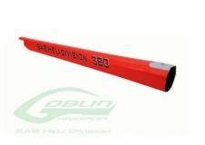 Heckrohr rot für Goblin 380