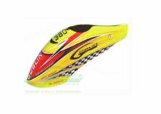 Kabinenhaube gelb rot für Goblin 380
