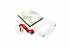 Rakonheli Micro FPV Kamera Halter für SPMVA1100 Kamera Alu rot für Blade 200QX