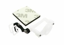 Rakonheli Micro FPV Kamera Halter für SPMVA1100 Kamera Alu schwarz Blade 200QX