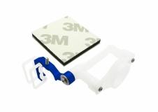 Rakonheli Micro FPV Kamera Halter für SPMVA1100 Kamera Alu blau für Blade 200QX