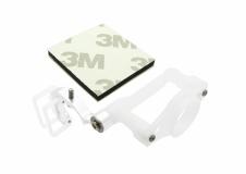 Rakonheli Micro FPV Kamera Halter für SPMVA1100 Kamera Alu silber Blade 200QX