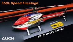 Align Speed Rumpf T-REX 550L rot