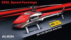 Align Speed Rumpf T-REX 550L rot-weiß