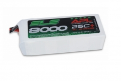 SLS Akku APL MAGNUM V2 8000mAh 6S1P 22.2V 25C+/40C