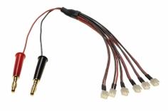 MCPX NANO QX 3D Ladekabel 6-fach parallel