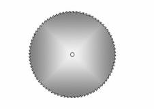 Kreissägeblatt Ø 16mm