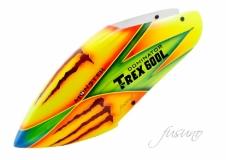 Fusuno Monster Airbrush fiberglas Haube für T-REX 600L Dominator