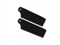 Fusuno Heckrotorblätter schwarz für Blade 130X