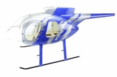 700er Rumpf MD500E GJive Blau