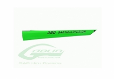 Heckrohr grün für Goblin 380