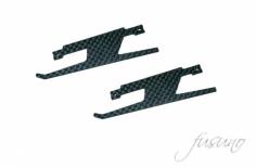 Fusuno ersatz Landekufen niedrig CFK im TDR Style für Blade 180CFX