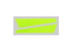 OXY Ersatzteil Aufkleber für vertikale Finne in gelb für OXY3